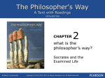 2. What Is the Philosopher`s Way?