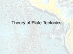 Theory of Plate Tectonics PP