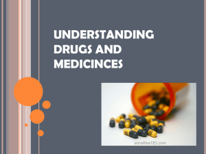 Drugs.Medicines Powerpoint