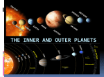 The Inner and Outer Planets