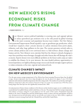new mexico`s rising economic risks from climate change