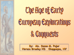 European Exploration and Conquest