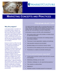 marketing concepts and practices