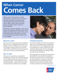 When Cancer Comes Back - American Cancer Society