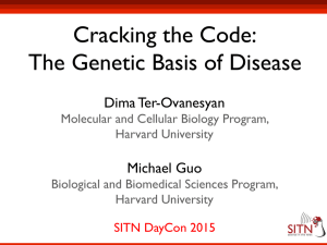 Cracking the Code: The Genetic Basis of Disease