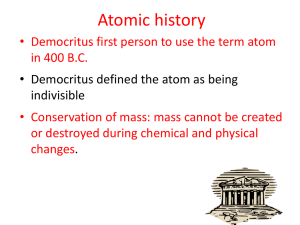 Atomic history - Kenton County Schools