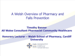 A Welsh overview of pharmacy and falls