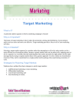 Target Marketing - Ron R. Kelleher