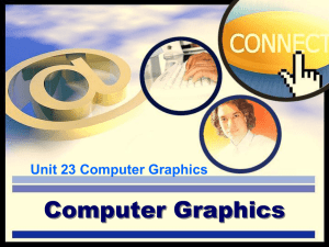 Computer Graphics - Bath College Moodle