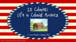 13 Colonies Powerpoint Lesson