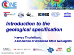 Tuesday 1150 H.Thorleifson - Geological Specification