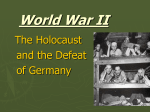 Holocaust and Defeat of Germany