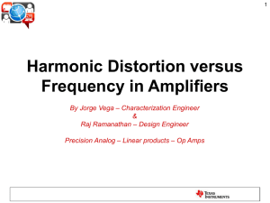 THD+N versus Frequency