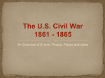 The U.S. Civil War 1861