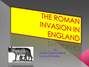 the roman invasion in england