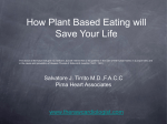 Plant based Eating - the raw cardiologist