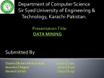 What is data mining - 2010-CS-A