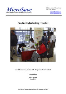Product Marketing Strategy Toolkit.