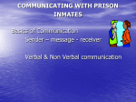 communicating with prison inmates - (EPEA)