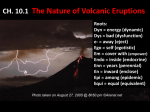 Types of Volcanoes Dangers from Composite Cones Pyroclastic