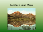 Landforms and Maps