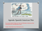 Spanish American War PPT