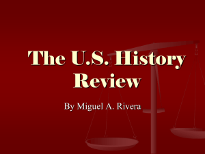 The U.S. History Review