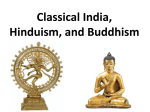 Classical India Hinduism Buddhism PPT