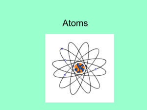 Atoms - Red Hook Central Schools