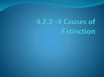 4.2.2-.4 Causes of Extinction