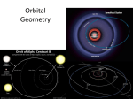 Orbital Geometry Notes