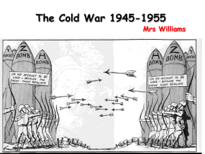 The Cold War 1943