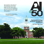Dartmouth College Artificial Intelligence Conference