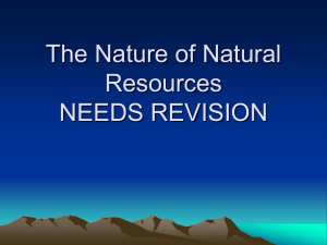 L8-the nature of natural resources
