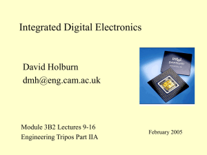 Paper E1 - Digital Circuits