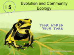 5-3 Ecological Communities PowerPoint