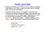 Faults and Folds