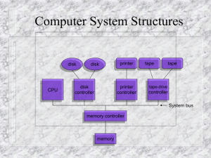 Chapter 2 - Computer System Structures
