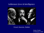 Are Ashkenazi Jews an example of natural selection for increased