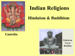 Indian Religions - Lincoln High School