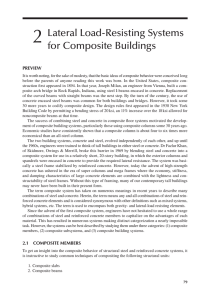 Chapter 2: Lateral Load-Resisting Systems for Composite Buildings