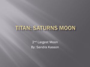 Saturn*s moon - OPResume.com