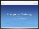 MKTG 363 What is Marketing?