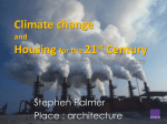 Sustainability and the road to *zero carbon* homes