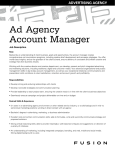 Ad Agency Account Manager