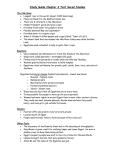 Study Guide Chapter 3 Test Social Studies