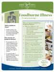 Foodborne Illness (Food Poisoning)