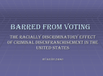 Barred from Voting - University of Minnesota Human Rights Library