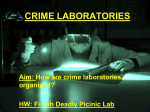 crime laboratories - Sewanhaka Central High School District