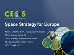 Space Strategy for Europe